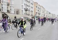 'Bicicletada ecofeminista' por Santander como antesala al 8 de marzo