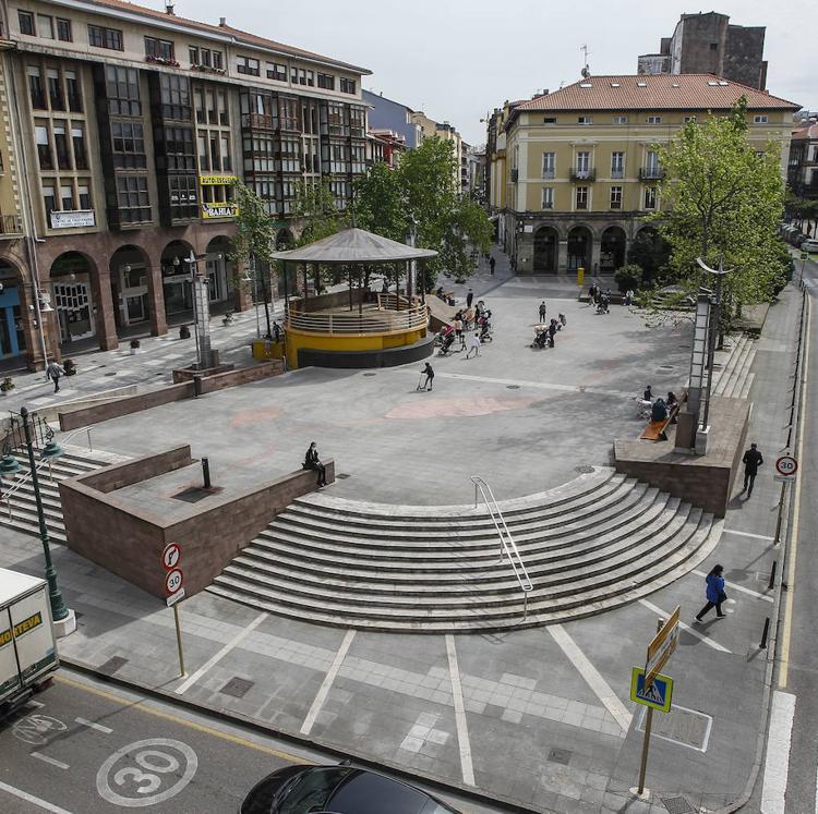 Torrelavega recupera el proyecto de reforma de la Plaza Mayor para hacerla más accesible