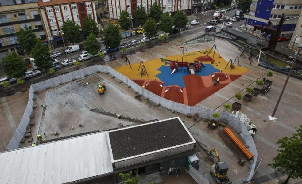 El Parque del Agua de Torrelavega, entrará en funcionamiento «en diez días»