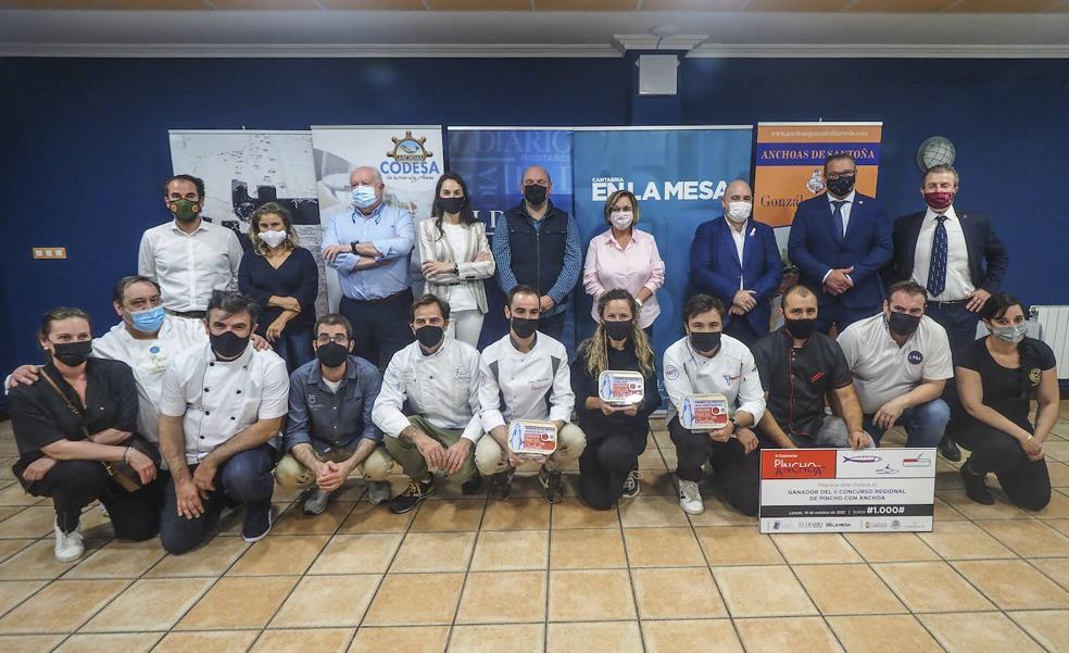 'Temporada' de La Tasca, el Mejor Pincho con Anchoa de Cantabria