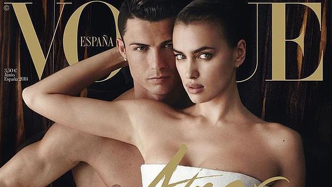 Cristiano e Irina se desnudan juntos