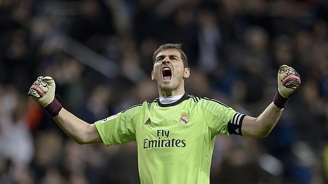 Iker Casillas, el único superviviente de Glasgow
