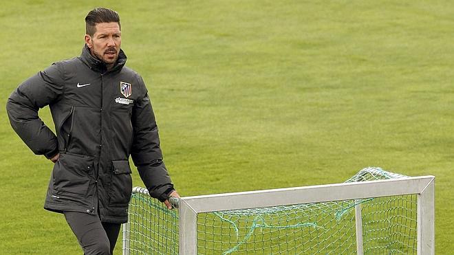 Simeone: «Siento responsabilidad pero no presión»