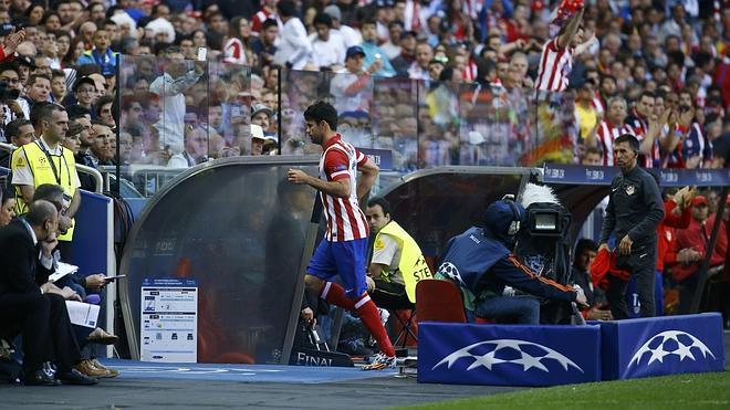 Cristiano, fundido; Diego Costa, roto