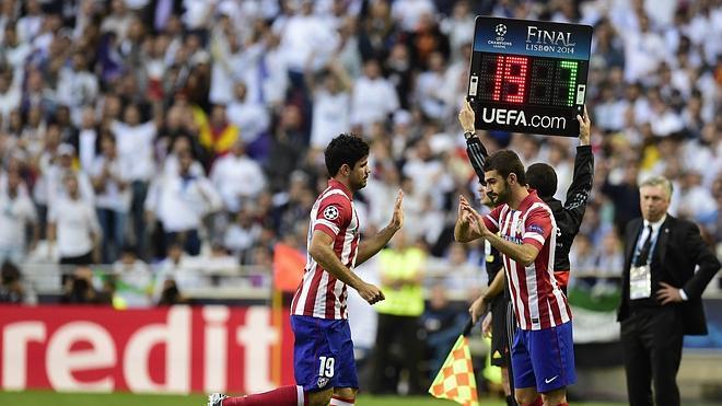Diego Costa resistió 9 minutos