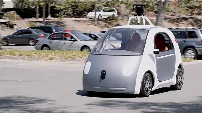 Google presenta un prototipo de coche sin volante ni pedales