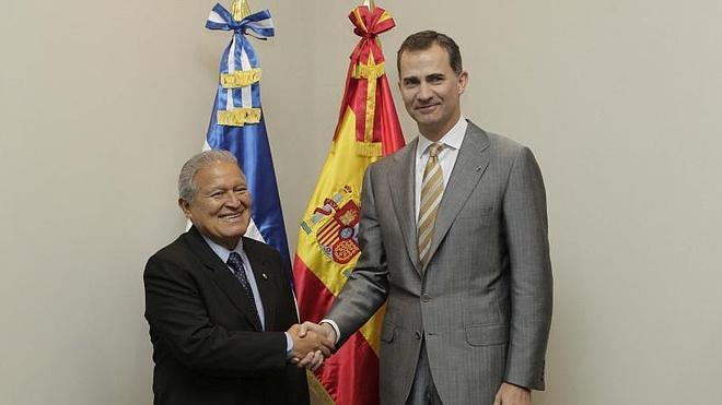 El príncipe acude a la toma de posesión del nuevo presidente de El Salvador