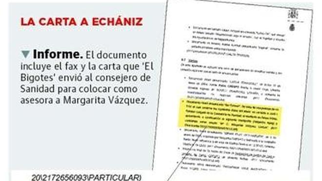 La red Gürtel contactó con un consejero madrileño para un favor laboral