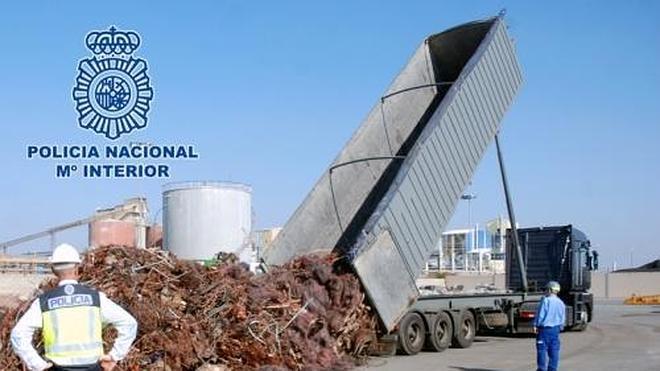 Cae una trama que logró beneficios millonarios vendiendo escombros a precio de cobre