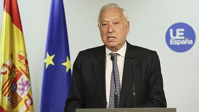 Margallo pide a la UE «un esfuerzo mayor» para solucionar el conflicto de Gaza