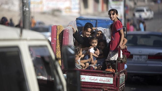 Reino Unido, Francia y Alemania proponen una misión europea para supervisar la retirada del bloqueo sobre Gaza