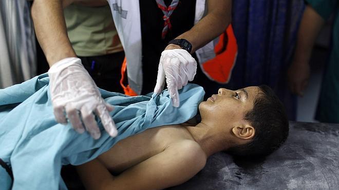 La ofensiva israelí en Gaza ha matado ya a más niños que las dos anteriores juntas