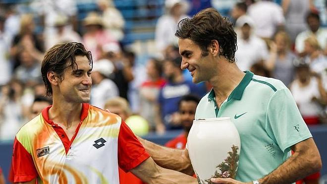 Federer, otra vez imposible para Ferrer