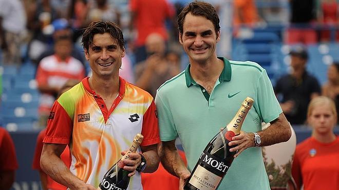 Federer vence a Ferrer en la final de Cincinnati