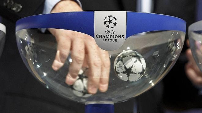 Tres españoles, cabezas de serie de la 'Champions'