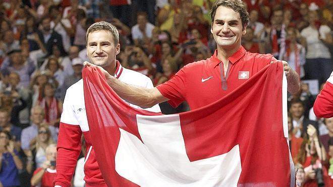Francia y Suiza jugarán la final de la Davis