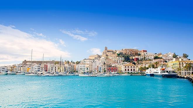 Ibiza, desde el mar