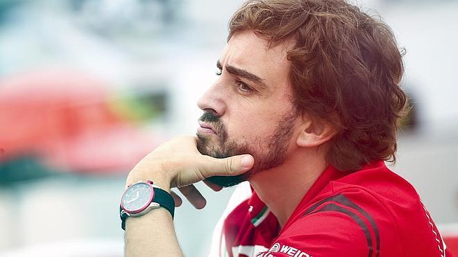 Alonso: «Pude morir en Spa por diez centímetros»