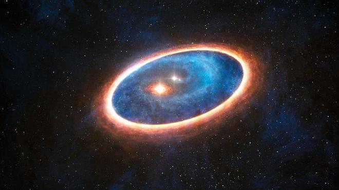 Primera imagen de un disco de formación planetaria