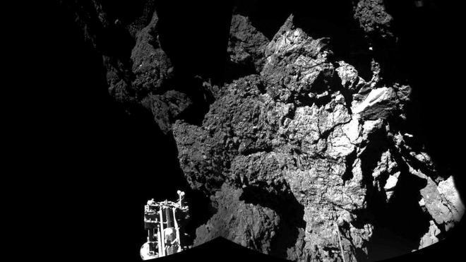 La sonda 'Philae' rebotó tres veces en el cometa por el fallo de los arpones
