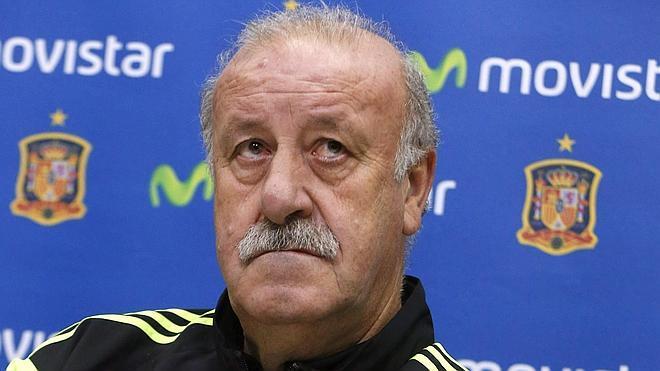 Del Bosque, rotundo: «Si dudamos de los futbolistas por el compromiso, mal asunto»