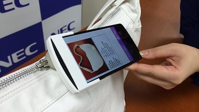 Un nuevo dispositivo para detectar falsificaciones con el móvil