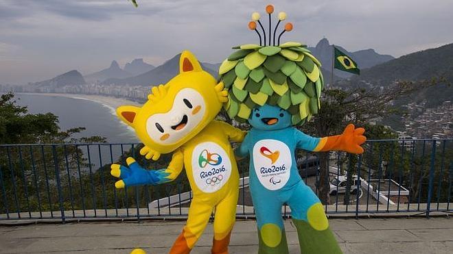 Río presenta las mascotas de los Juegos de 2016