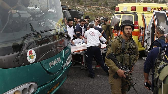 Un palestino rocía con ácido a cinco israelíes en Cisjordania