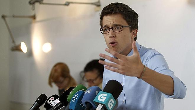 Errejón alega contra el expediente disciplinario de la Universidad de Málaga