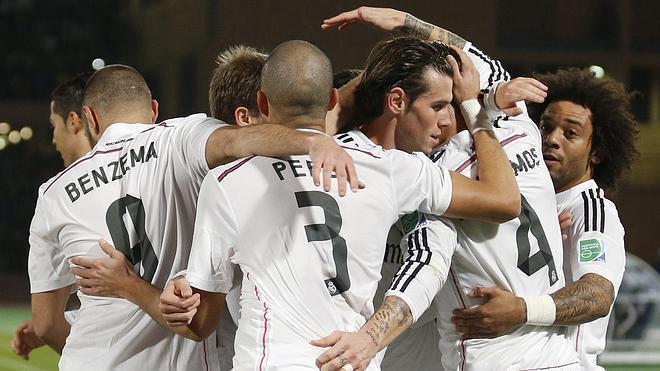 Exótico paseo del Real Madrid en Marrakech