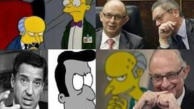 Los Simpson, el PP y Podemos