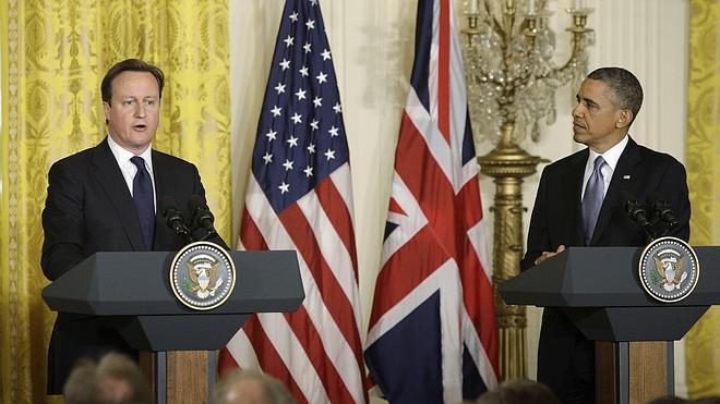 Obama y Cameron prometen un frente unido contra los extremistas islamistas