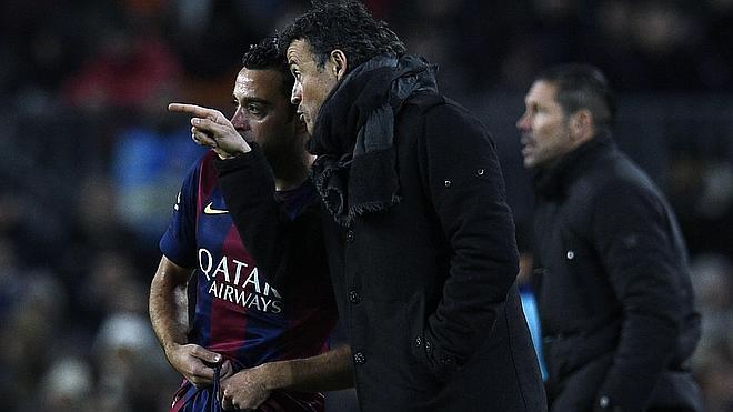 Luis Enrique: «No me esperaba otro partido que no fuera éste»