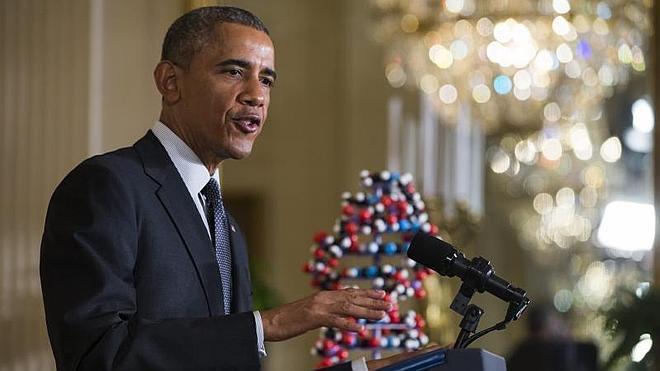 Obama: «Estoy orgulloso de haber salvado la economía» de EE UU