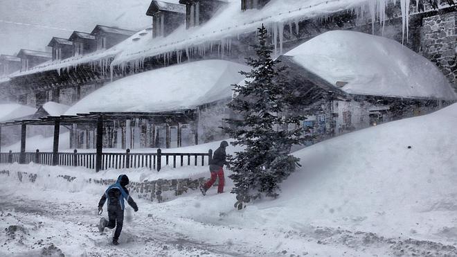 Diecinueve provincias en alerta por nieve, viento y olas de hasta 7 metros