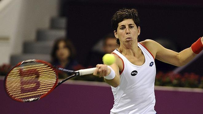 Carla Suárez elimina a Kvitova en Doha