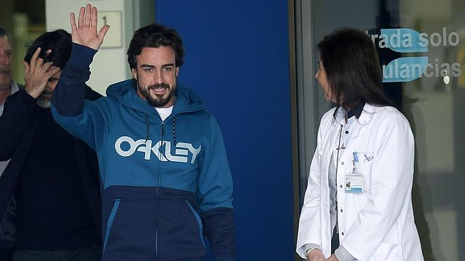 Fernando Alonso: «Estoy perfectamente»