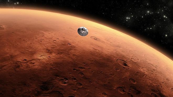 La NASA detecta misteriosas nubes de polvo en la atmósfera de Marte