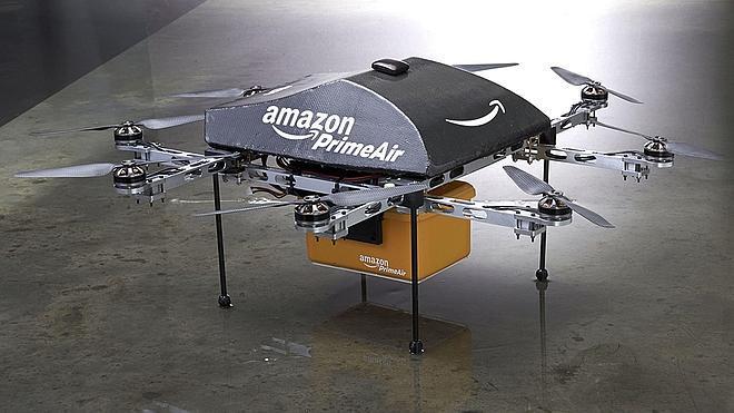 Autorizan a Amazon a probar sus drones para entregar paquetes en EE UU