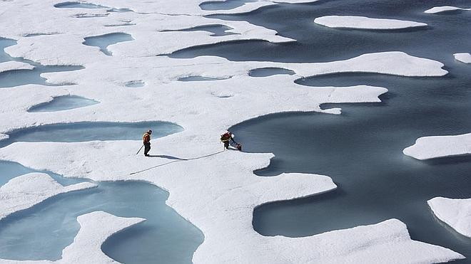 El hielo del Ártico alcanza su menor nivel desde que hay registros