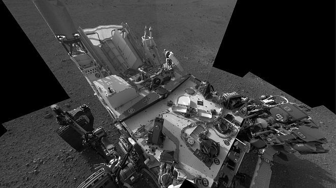 El rover Curiosity encuentra nitrógeno en el suelo marciano