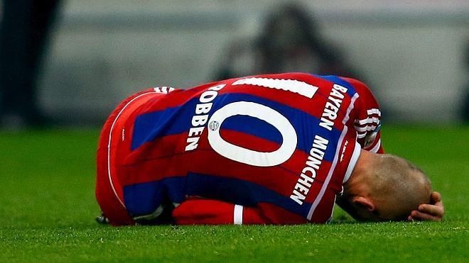 Robben se perderá el duelo contra España
