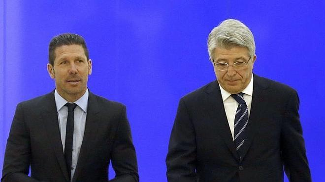 Cerezo: «Simeone encarna como nadie los valores de nuestro club»
