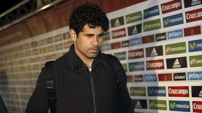 Diego Costa, de vuelta en Londres tras confirmarse la baja