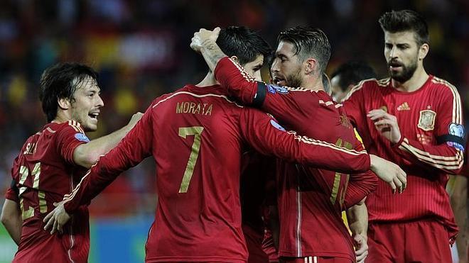 Insípido pero provechoso triunfo de España