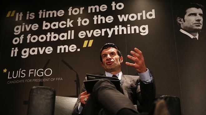 Figo no cree que toda África vaya a dar su voto a Blatter
