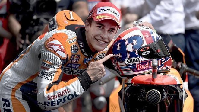 Márquez: «Las Ducati están dando mucha guerra y Rossi está muy rápido»