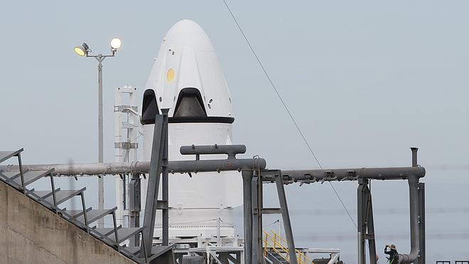 La nave SpaceX probará el 'botón de eyección' para astronautas