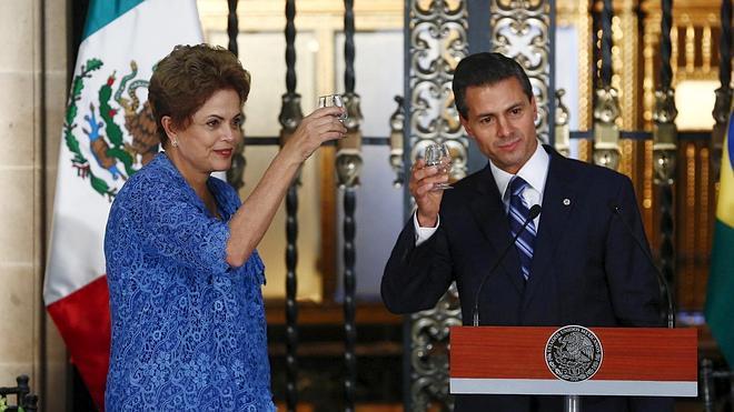 Brasil y México acuerdan duplicar el nivel del comercio bilateral en diez años