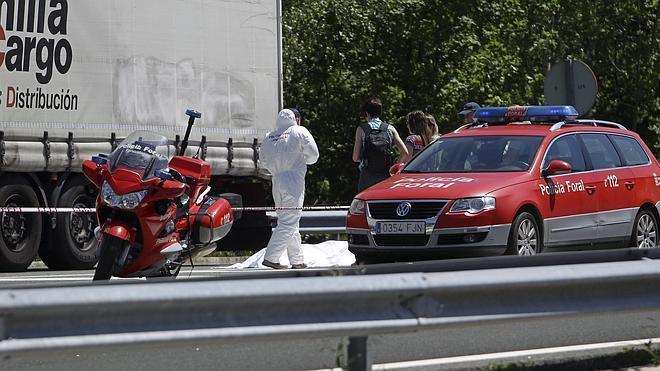 Ingresa en prisión el ertzaina acusado de matar a un camionero en Navarra